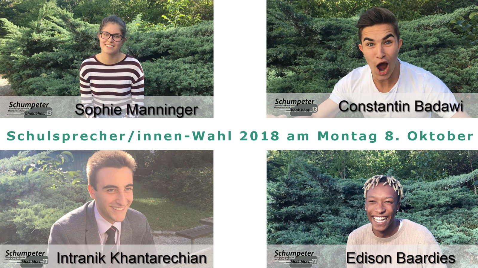 Schulsprecher/innen-Wahl Werbevideos 2