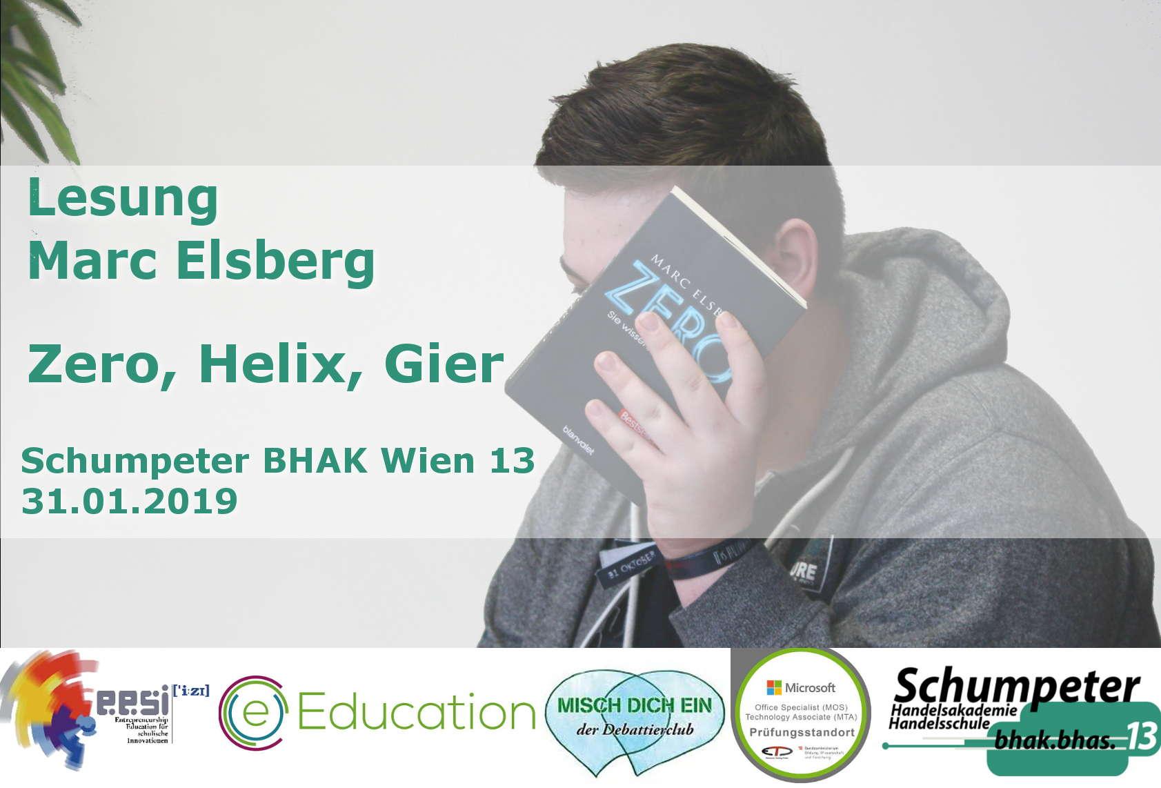 Lesung mit Marc Elsberg