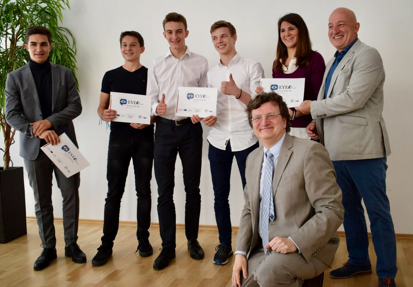 EEYE-Projekt mit erfolgreichen Siegern!