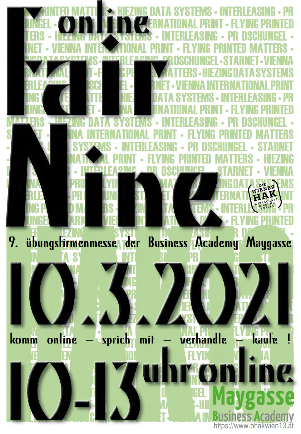 Online Trading FIX — Übungsfirmenmesse neu gedacht — 10. März2021