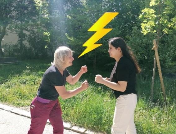 Schnitzeljagd- Teacher vs. Student