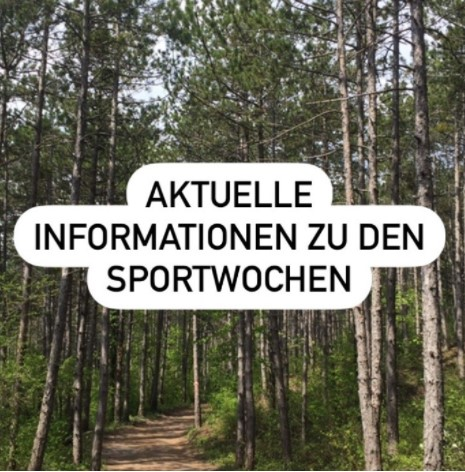 Info zu den Sportwochen
